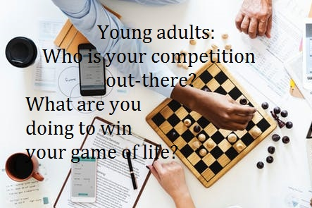 Young adults – who is managing your game of life?