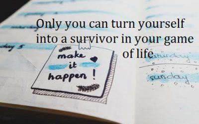 Survivor versus victim