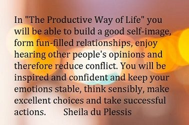 The Productive Way of Life