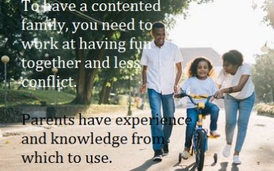 Parents, how can you improve your confidence